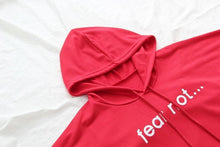 Load image into Gallery viewer, 'Fear Not' Crop Hoodies