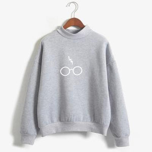 Lightning Vs. Glasses Sweatshirt