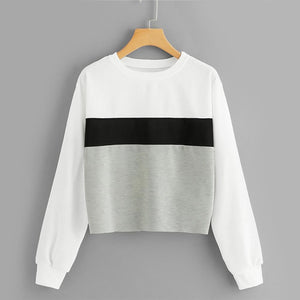 Three Tone Sweatshirt