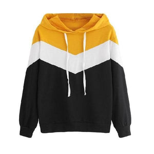 Two Tone Hooded Shirt