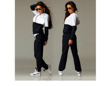 Load image into Gallery viewer, Two Tone Hoodie & Pants (2 Piece Set)