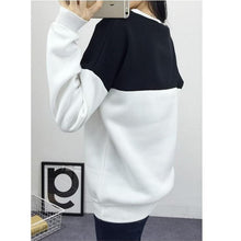 Load image into Gallery viewer, Two Tone Patchwork Sweatshirt