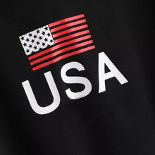 Load image into Gallery viewer, 'USA' Crop Hoodie