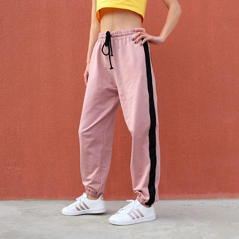 Striped Running Pants