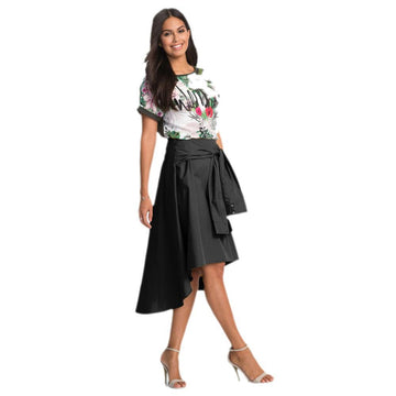 Women Flared Knee Skirt