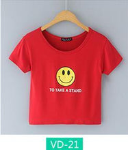 Load image into Gallery viewer, 'TO TAKE A STAND' Crop T-Shirt