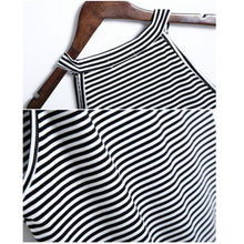Load image into Gallery viewer, Striped Crop Tank Top