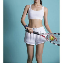 Load image into Gallery viewer, Mesh Patchwork Sports Shorts