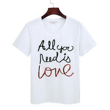 'All you need is love' T-Shirt