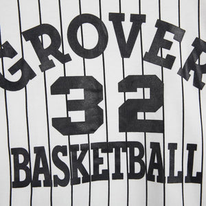 'GROVER 32 BASKETBALL' Striped Shirt