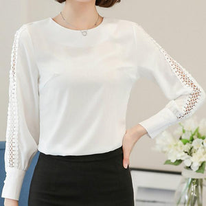 Lace Sleeve Blouse