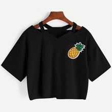 Load image into Gallery viewer, Pineapple Crop T-Shirt