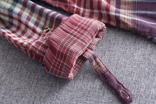 Load image into Gallery viewer, Plaid European Style Shirt