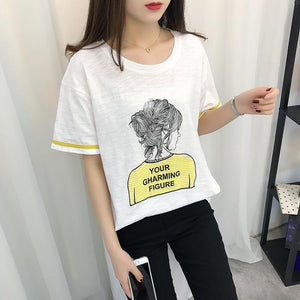 'YOUR CHARMING FIGURE' T-Shirt