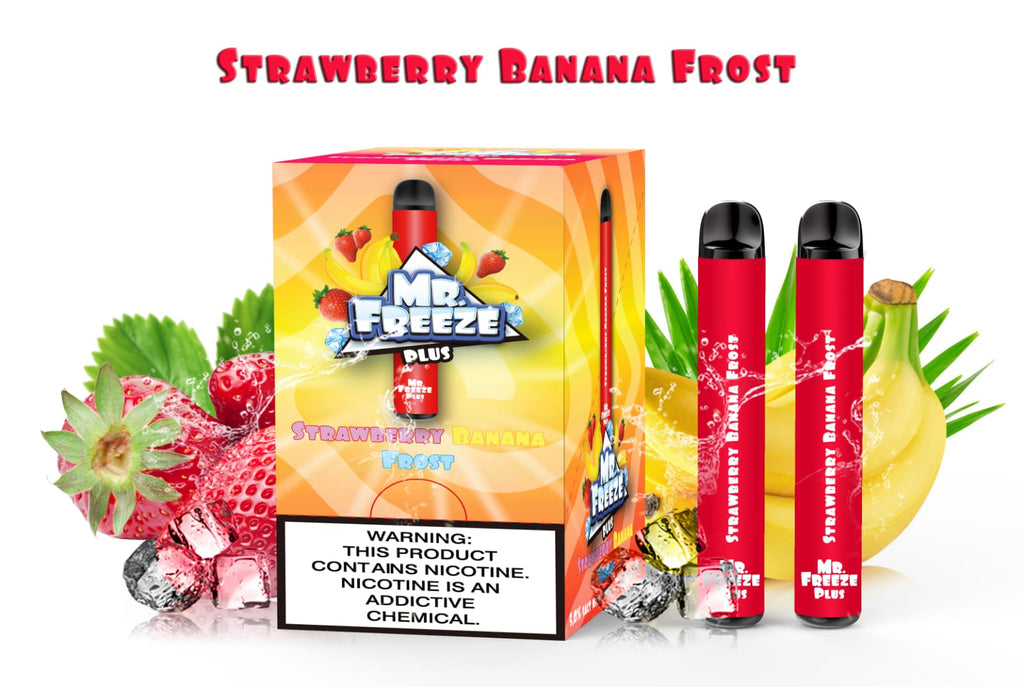 Strawberry Banana Frost Disposable (800 Puffs)
