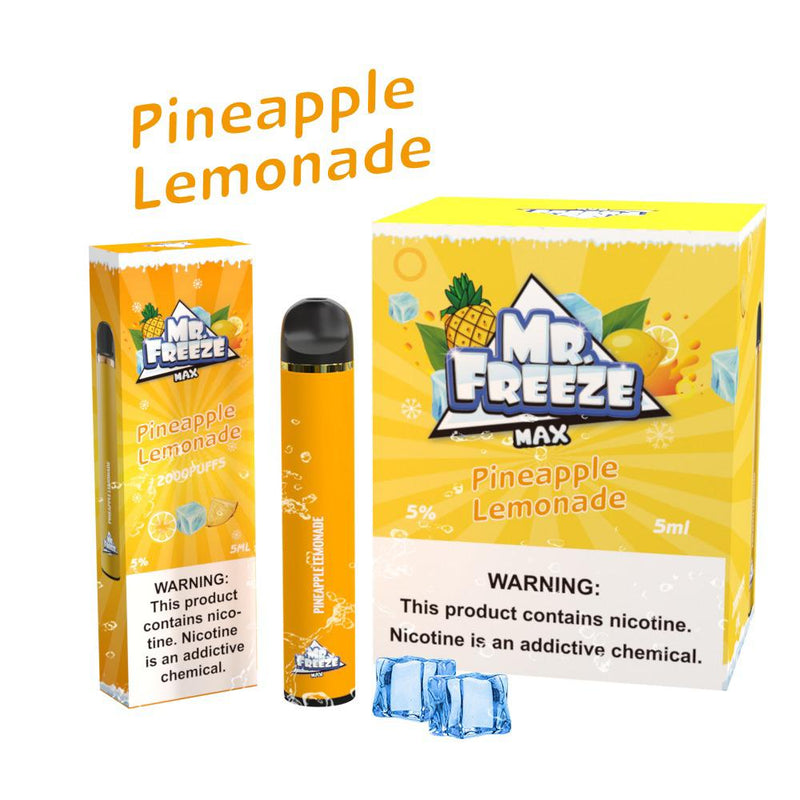 Pineapple Lemonade 2000 puffs