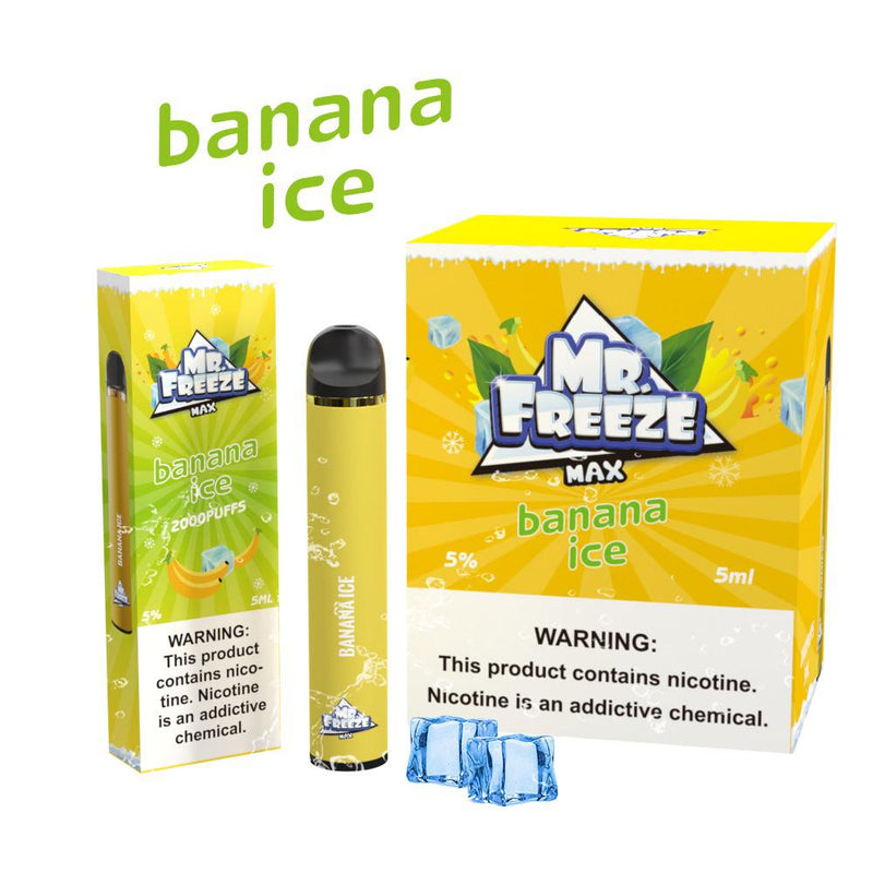 Banana ice 2000 puffs