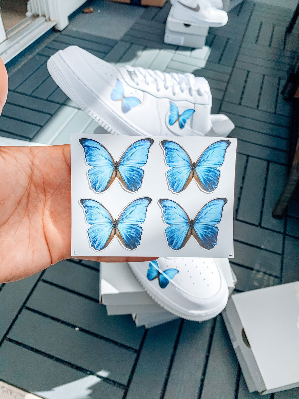 """Butterfly Effect"" DIY Premium Full Color Heat Transfer - Sandez Official"