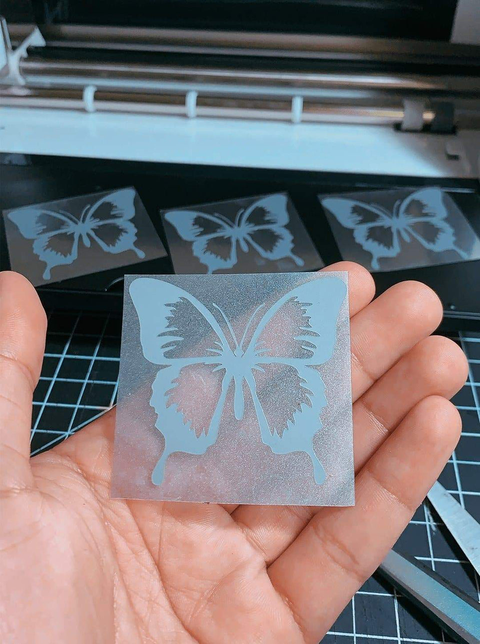 """Butterfly Effect"" Reflective Decal - Sandez Official"