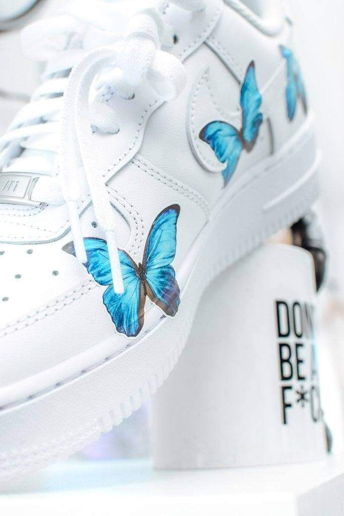 """Butterfly Force 1's"" Custom Air Force 1's - Sandez Official"