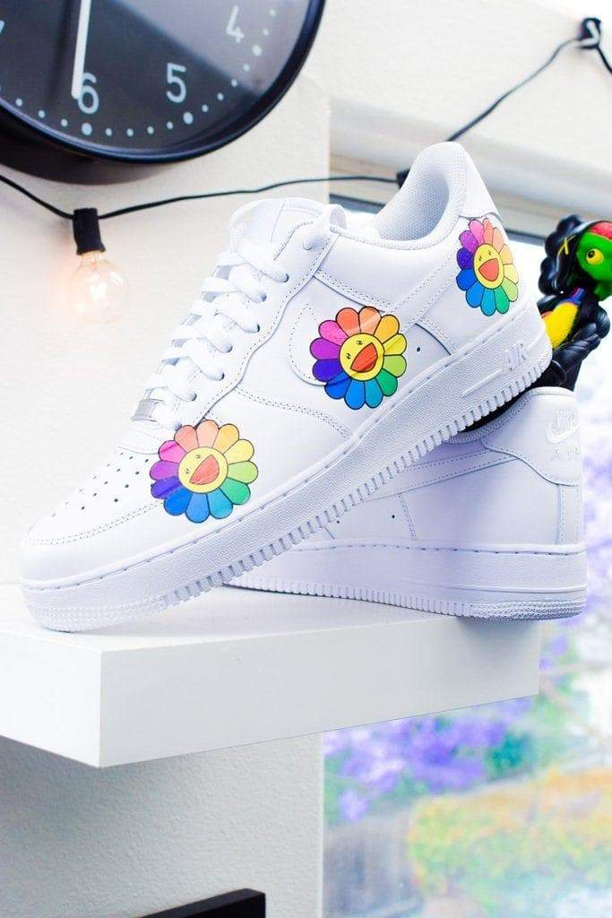 """Murakami"" Custom Air Force 1 - SandezOfficial"