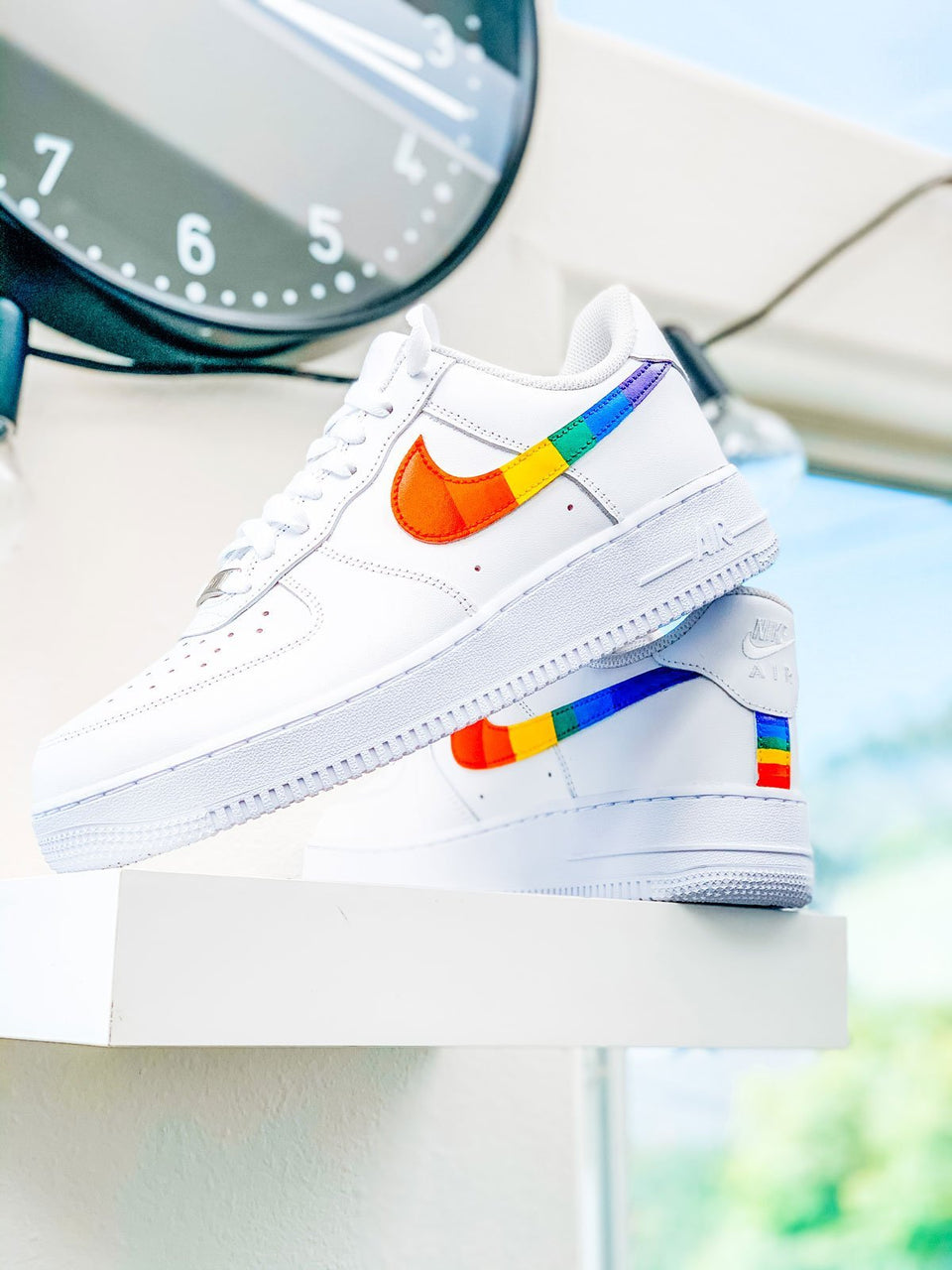 """Pride"" Custom Air Force 1's - Sandez Official"