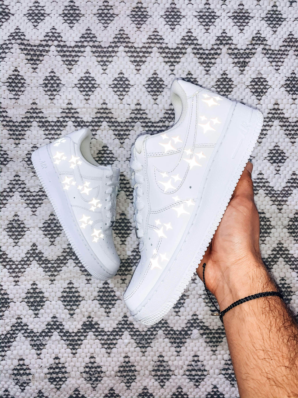"""Shine"" Custom Air Force 1 - SandezOfficial"