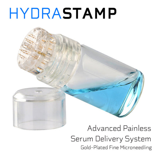 HYDRASTAMP DIY Derma EZ Jet Microneedling Kit (For Skin Brightening, Wrinkle Reduction and Overall Skin Rejuvenation)