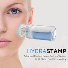 Load image into Gallery viewer, HYDRASTAMP DIY Derma EZ Jet Microneedling Kit (For Uneven Skin Texture, Pores and Scars)