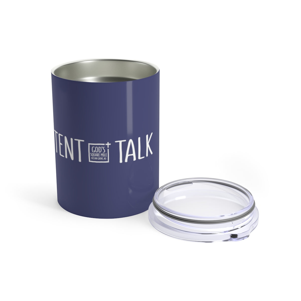 Tent Talk Solo Cup: Faded Blue
