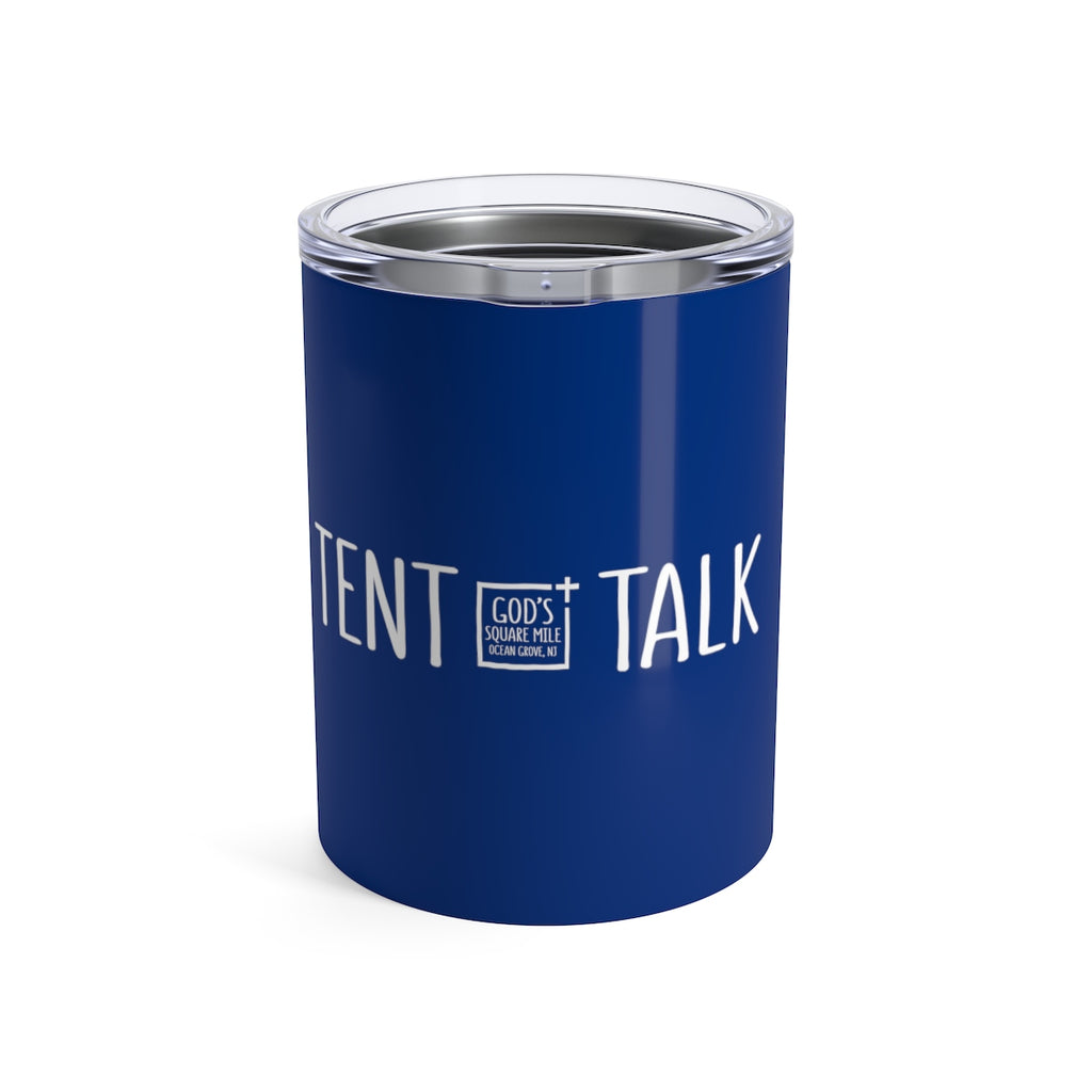 Tent Talk Solo Cup: Blue