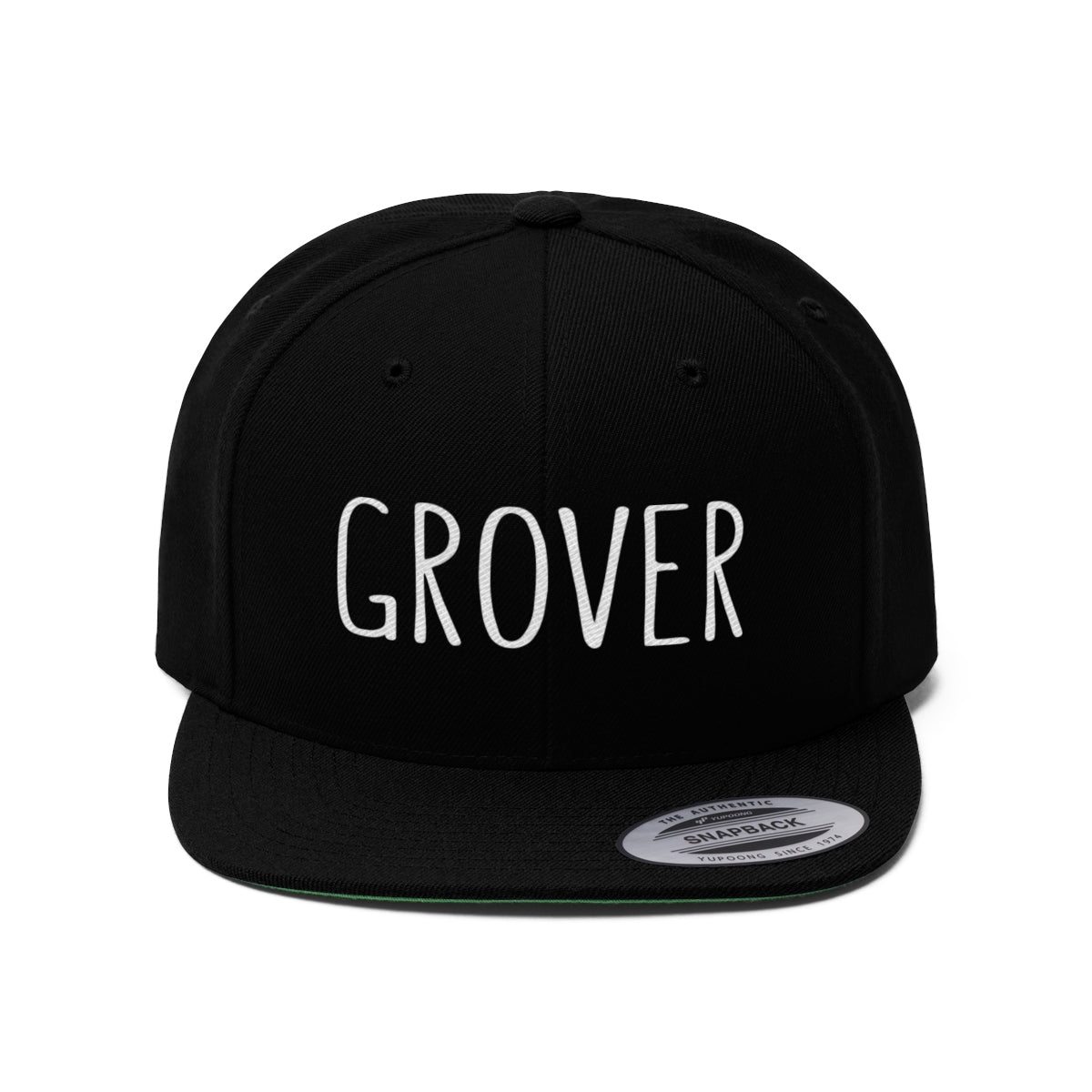Grover Flat Bill Hat - GoGannon Designs