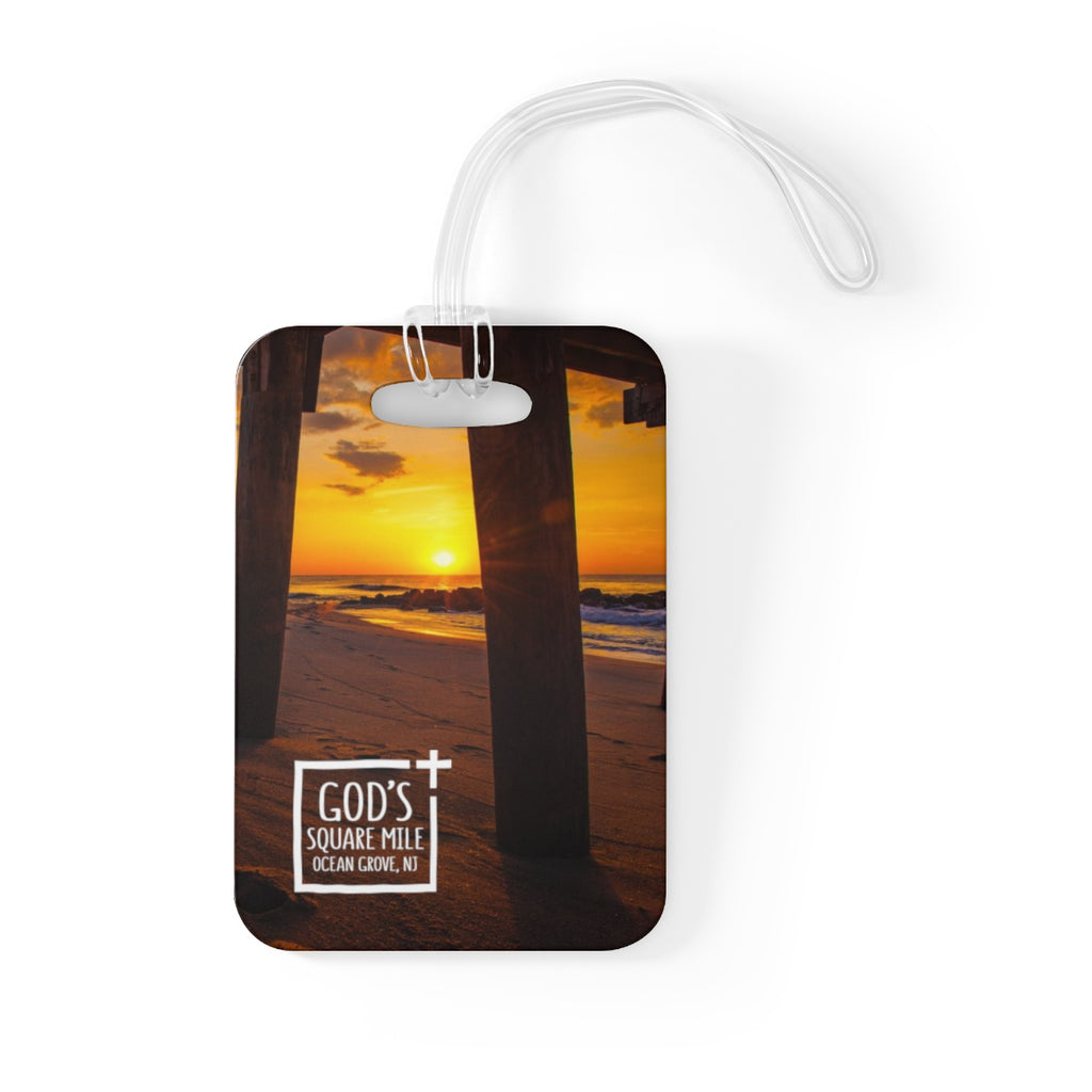 God's Square Mile Bag Tag - GoGannon Designs