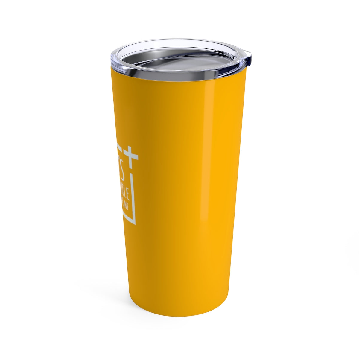 God's Square Mile Tumbler: Citrus