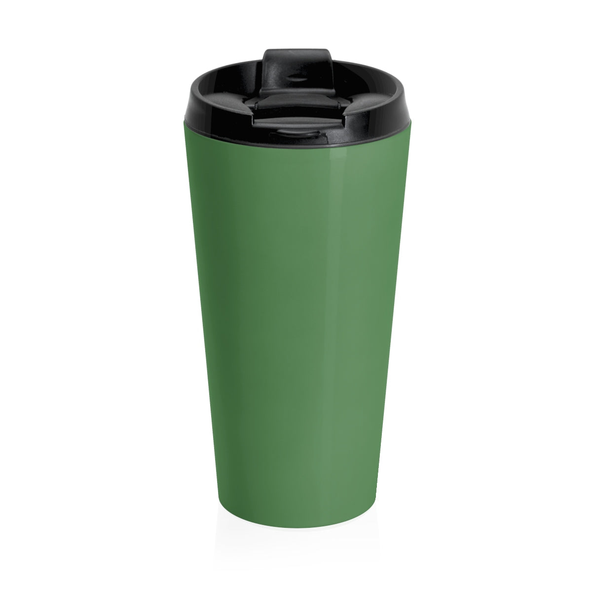 Grover Stainless Steel Travel Mug: Green