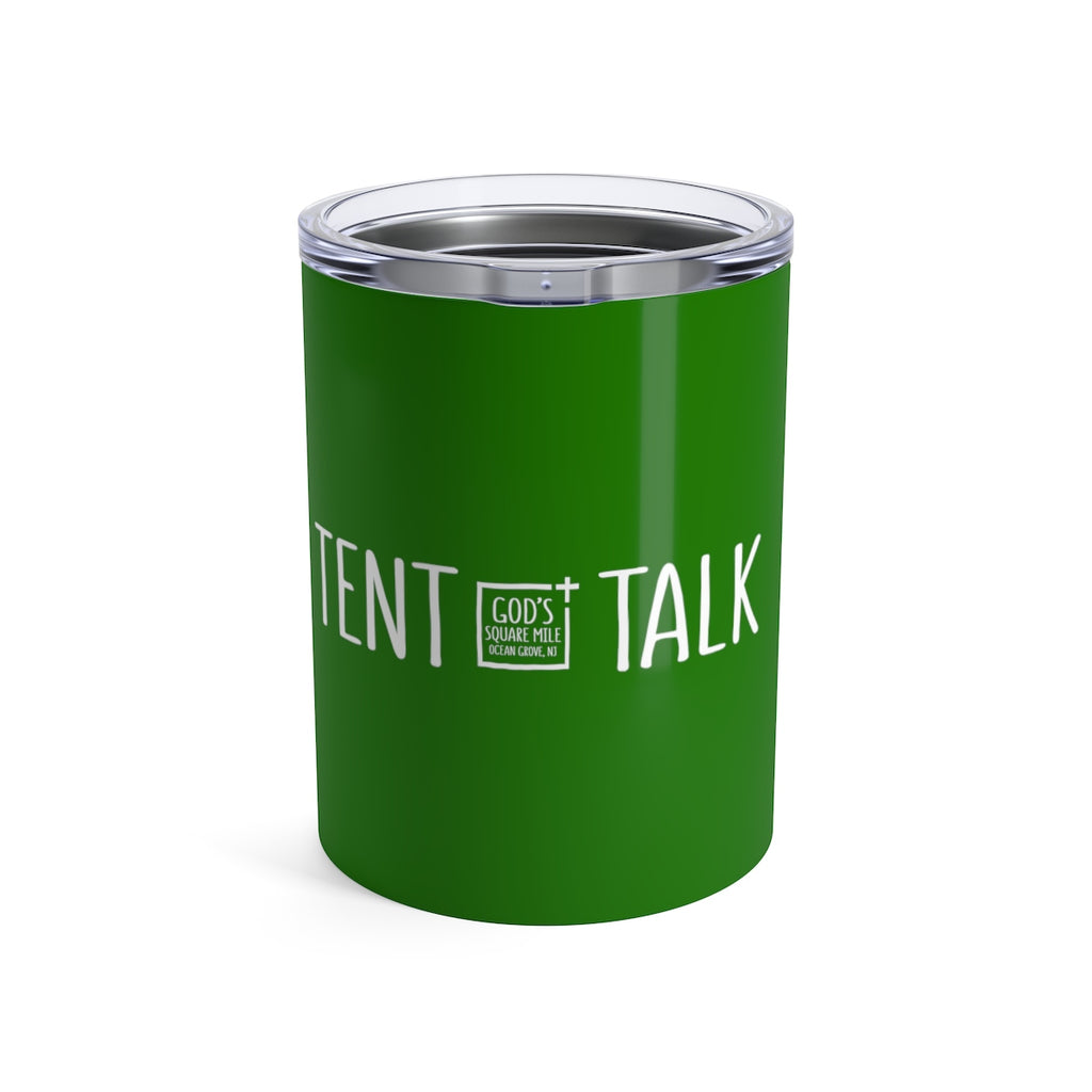 Tent Talk Solo Cup: Green
