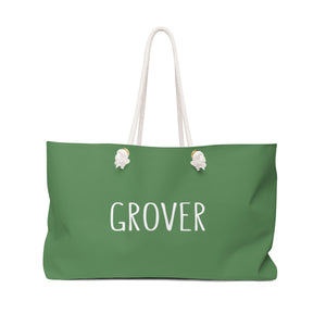 Grover Weekender Bag: Green