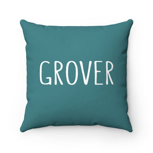 Grover Pillow: Teal