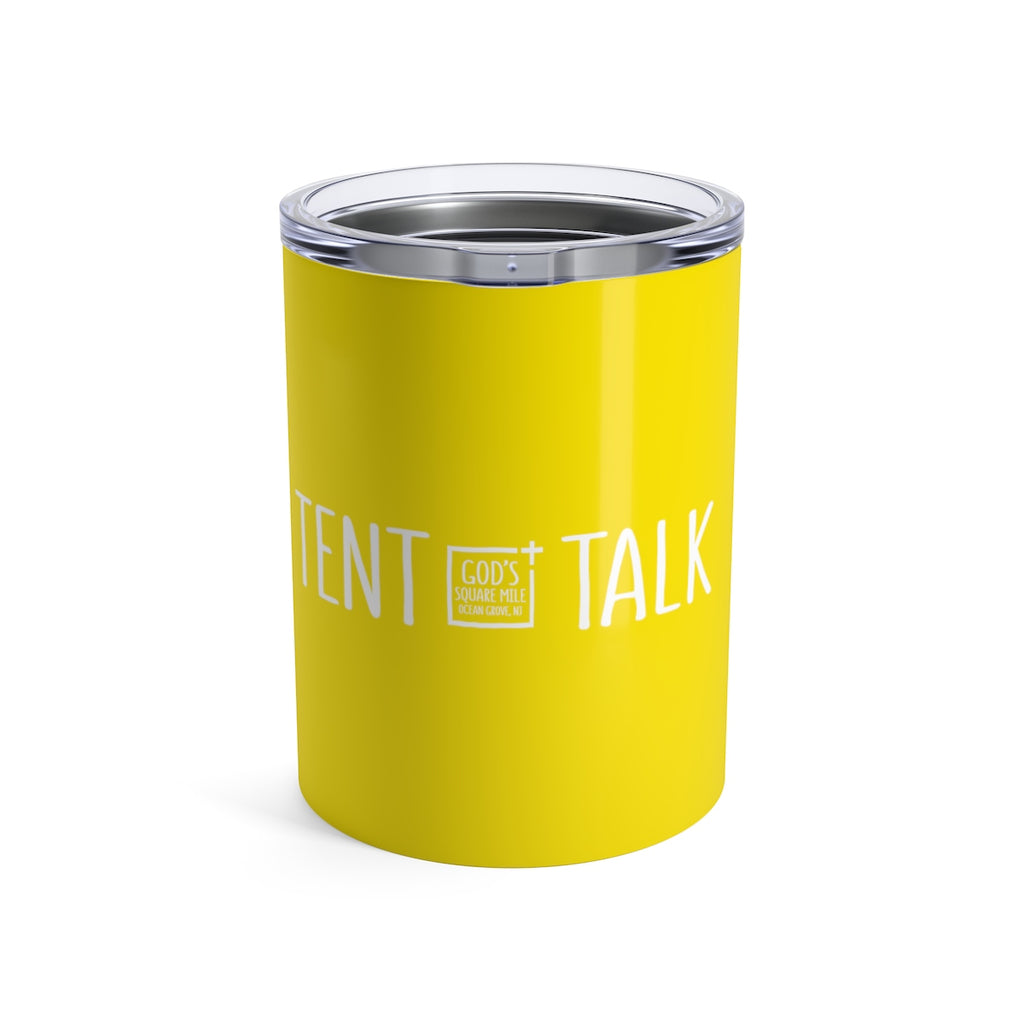 Tent Talk Solo Cup: Yellow