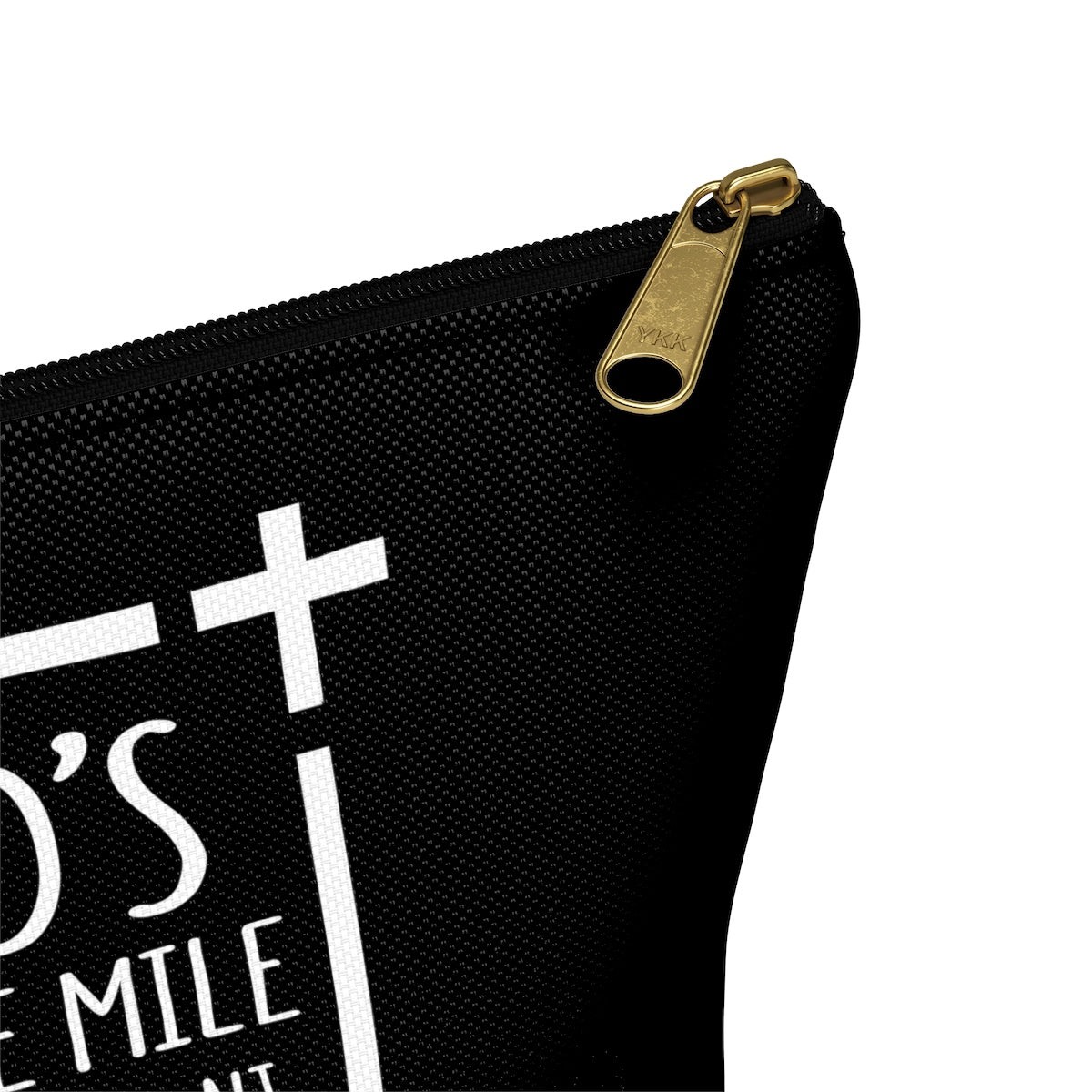 God's Square Mile Accessory Bag: Black - GoGannon Designs
