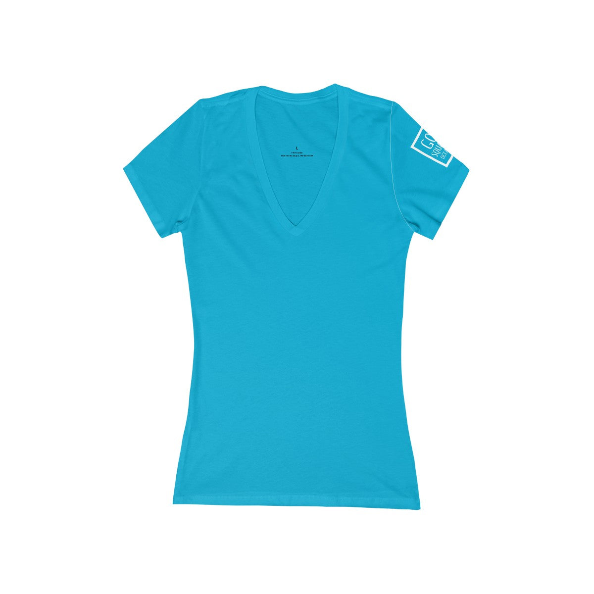 Grover Ladies Short Sleeve Fitted V-Neck Tee