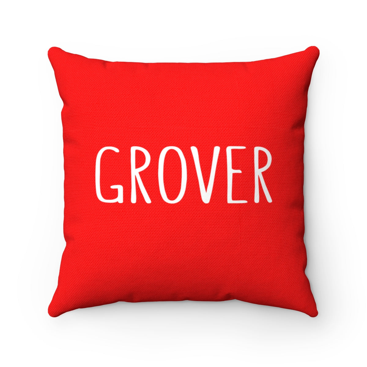 Grover Pillow: Red