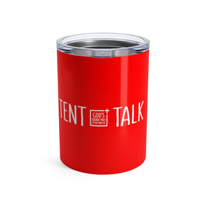 Tent Talk Solo Cup: Red