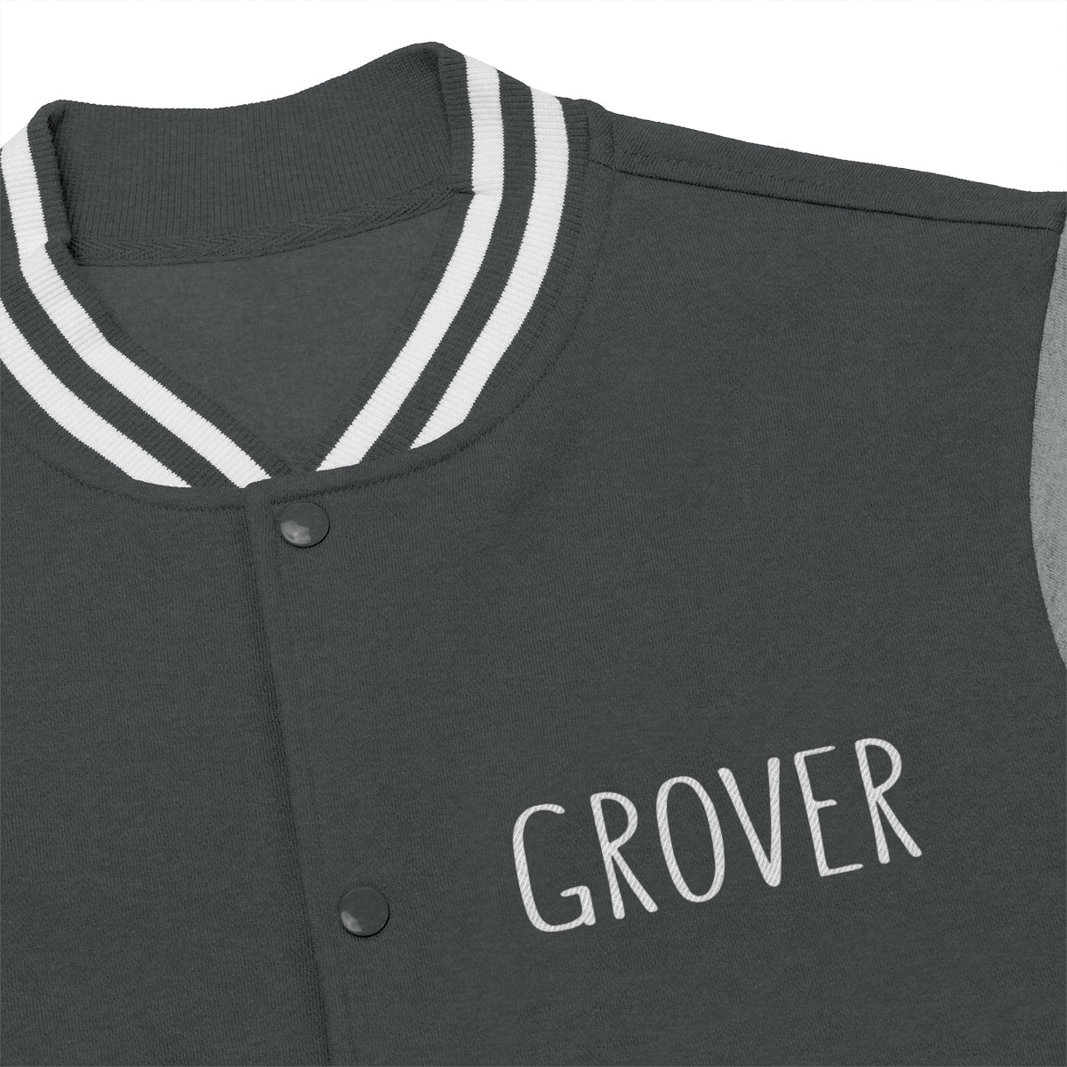 Grover Embroidered Men's Jacket: multiple colors