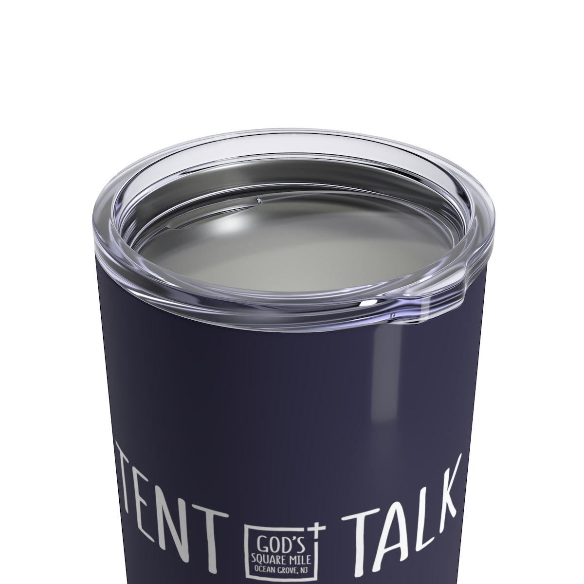 Tent Talk Solo Cup: Dark Blue