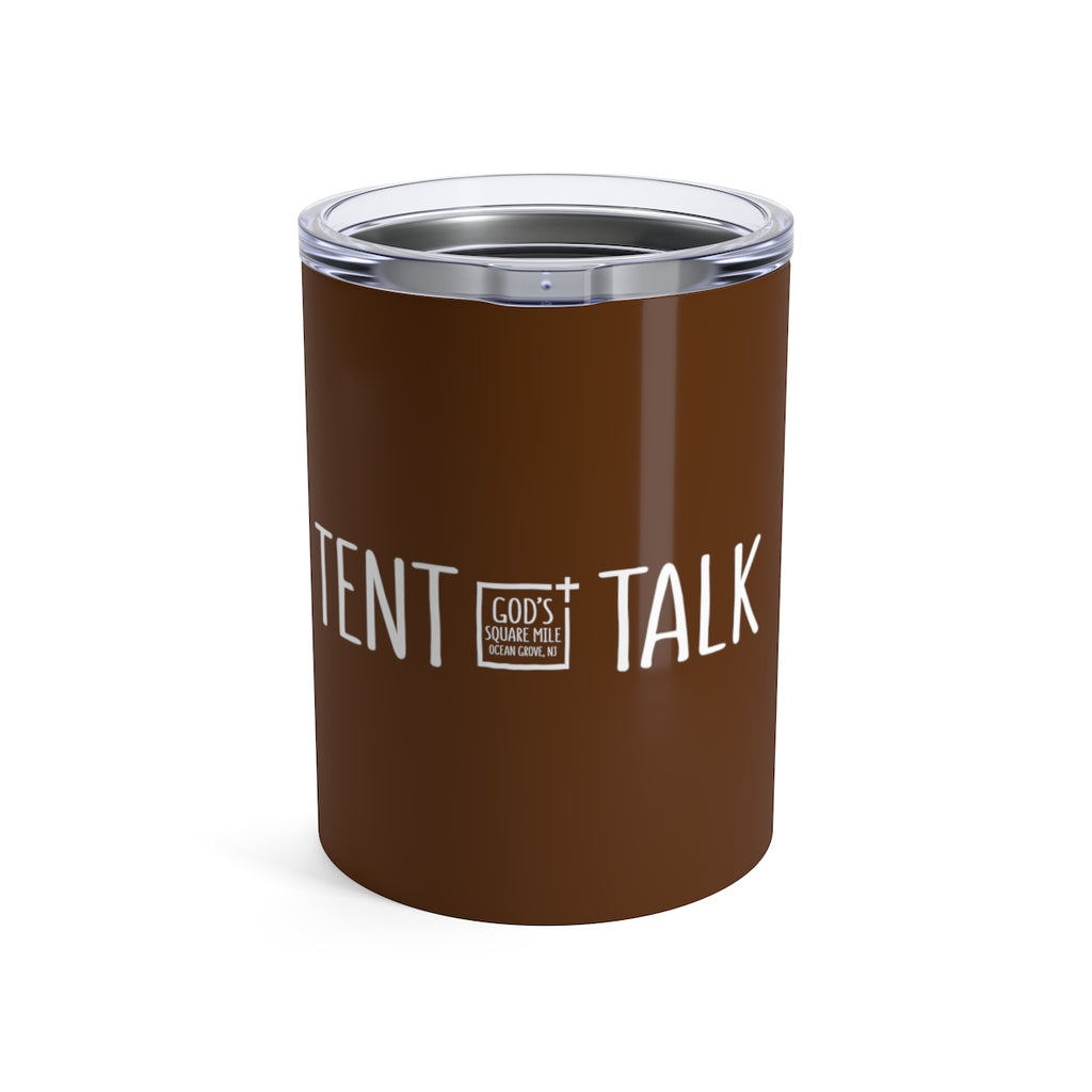 Tent Talk Solo Cup: Brown
