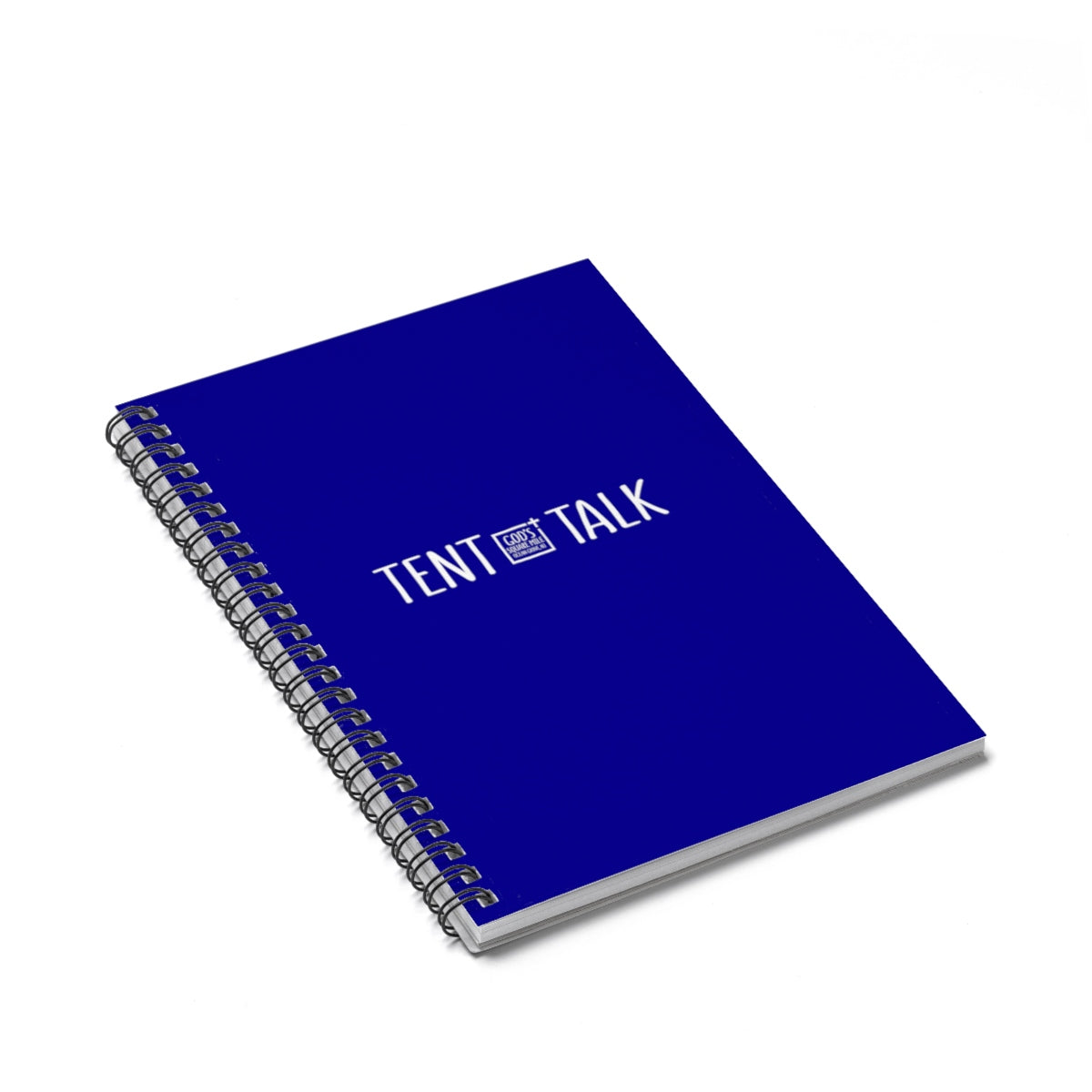 Tent Talk Spiral Notebook - Blue