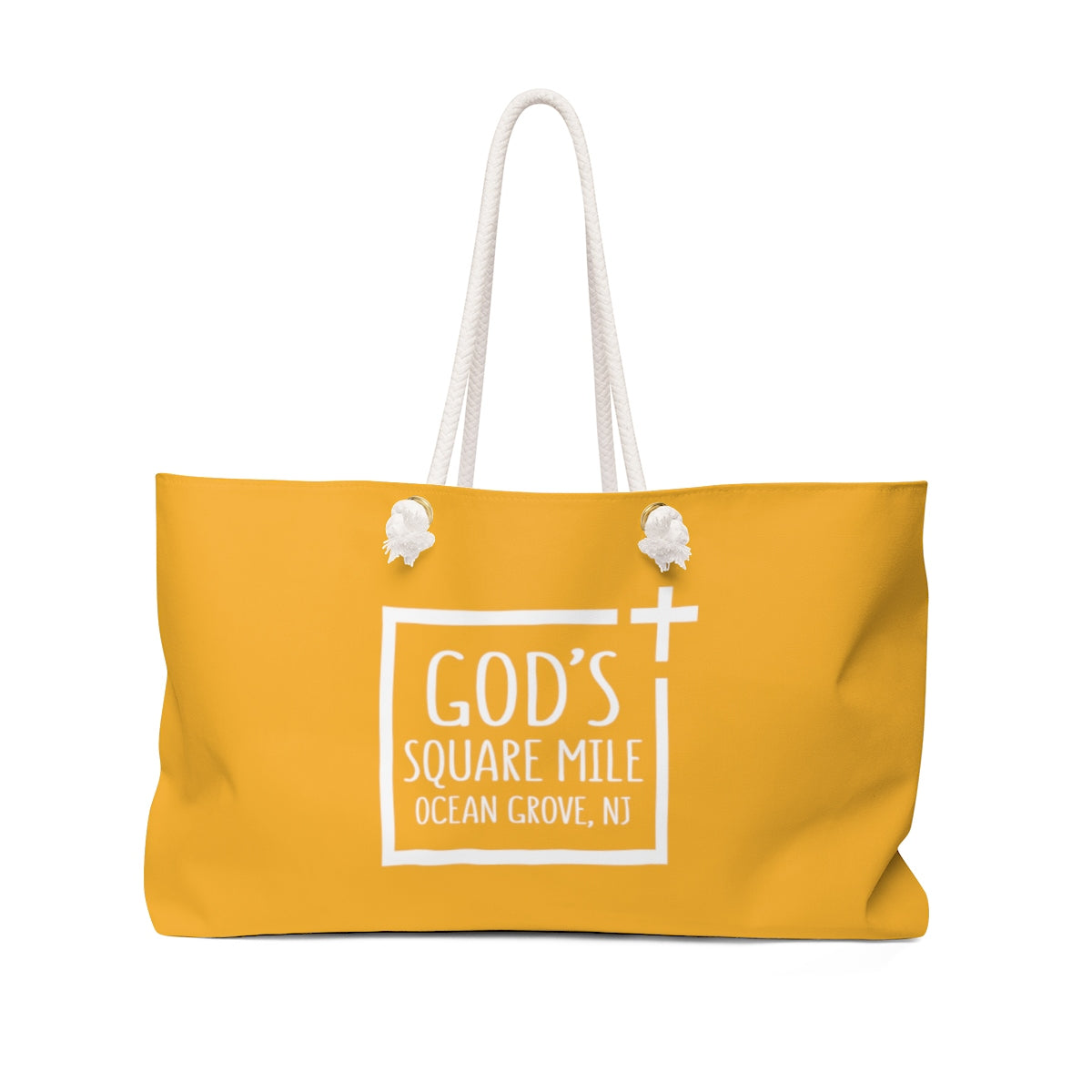 God's Square Mile Weekender Bag: Citrus