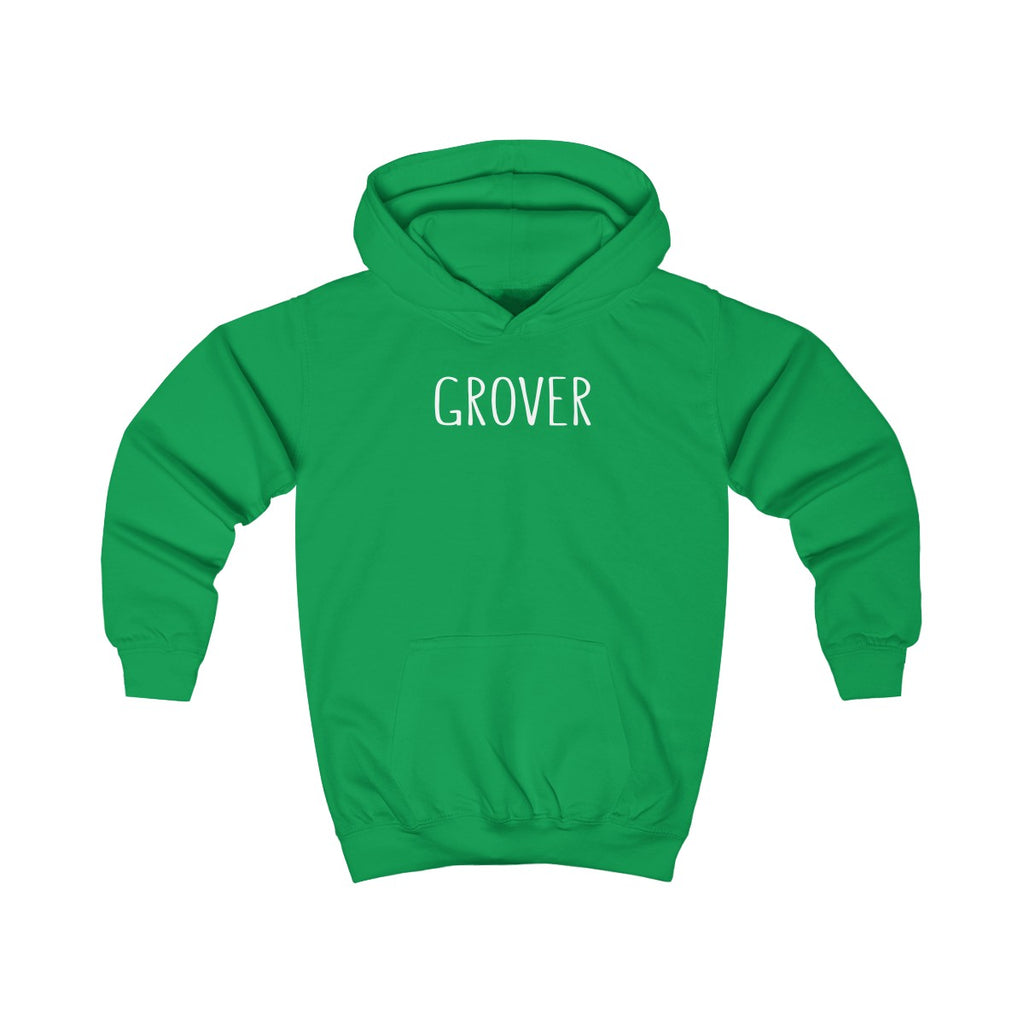 Grover Kids Pullover Hoodie: Multiple Colors