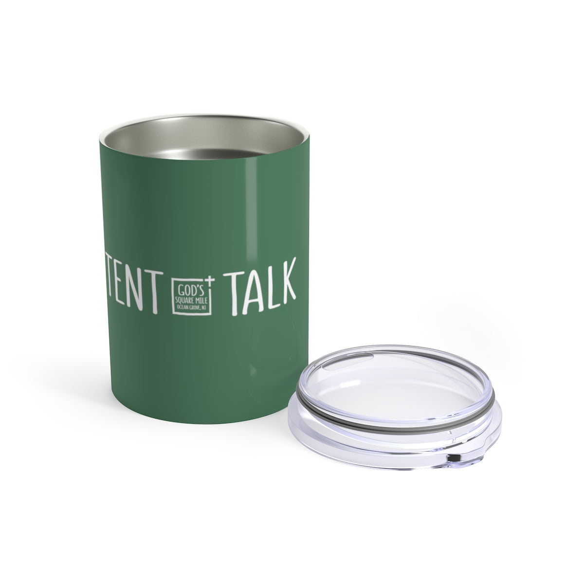 Tent Talk Solo Cup: Faded Green
